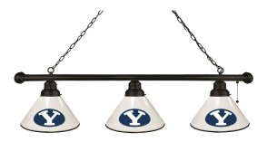 Brigham Young Billiard Lights Black Finish