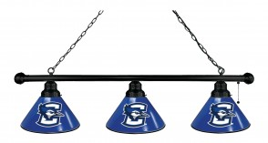 Creighton Billiard Lights Black Finish