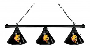 Ferris State Billiard Light Black Finish