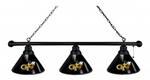 Georgia Tech Billiard Light Black Finish