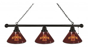 Iowa State Billiard Light Black Finish