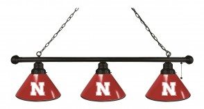 University of Nebraska Logo Billiard light