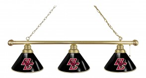 Boston College Billiard Light Brass Finish