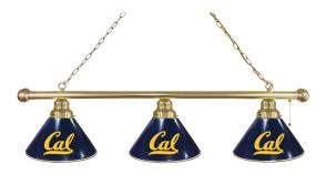 California Billiard Lights Brass Finish