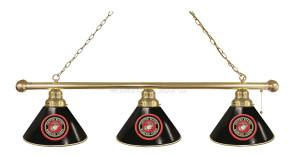 Military Logo Billiard light - Brass