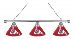 Fresno State Billiard Light Chrome Finish