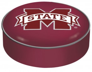Mississippi State University Logo Bar Stool Seat Cover