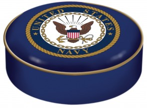 US Navy Logo Bar Stool Seat Cover