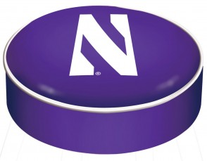 Northwestern University Logo Bar Stool Seat Cover