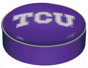 Texas Christian University Logo Bar Stool Seat Cover