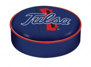 University of Tulsa Logo Bar Stool Seat Cover
