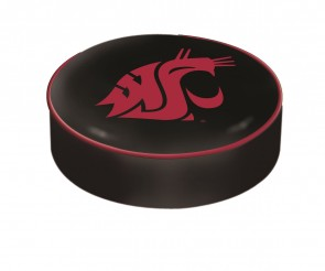 Washington State University Logo Bar Stool Seat Cover
