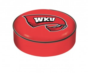 Western Kentucky University Logo Bar Stool Seat Cover