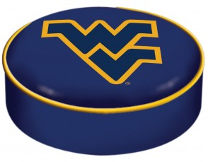West Virginia University Logo Bar Stool Seat Cover
