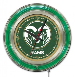 Colorado State 15 Inch Neon Clock