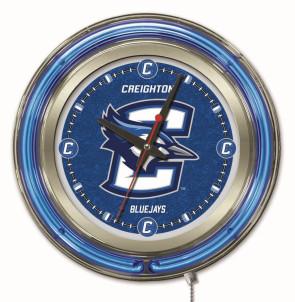 Creighton 15 Inch Neon Clock