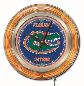 Florida 15 Inch Neon Clock