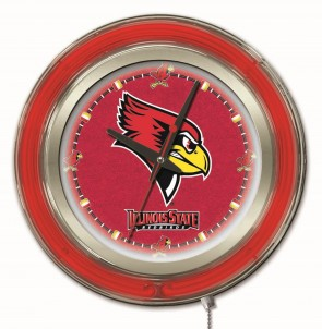 Illinois State 15 Inch Neon Clock