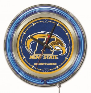 Kent State 15 Inch Neon Clock