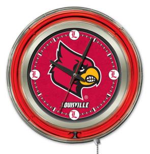 Louisville 15 Inch Neon Clock