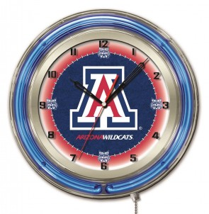 Arizona 19 Inch Neon Clock