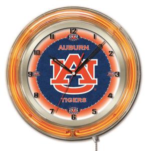 Auburn 19 Inch Neon Clock