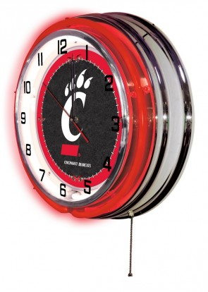 Cincinnati 19 Inch Neon Clock