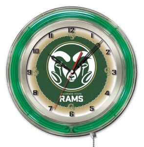 Colorado State 19 Inch Neon Clock