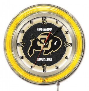 Colorado 19 Inch Neon Clock