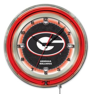 Georgia G 19 Inch Neon Clock