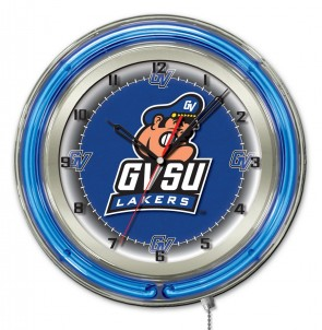 Grand Valley State 19 Inch Neon Clock