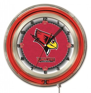 Illinois State 19 Inch Neon Clock