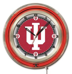 Indiana 19 Inch Neon Clock