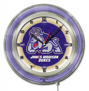 James Madison 19 Inch Neon Clock