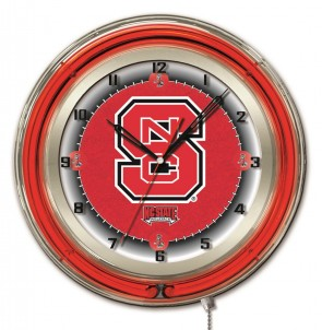"19"" Neon North Carolina State Logo Clock"