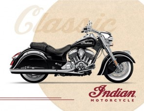 Indian Motorcycles CS1 Canvas