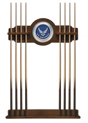 US Air Force Cue Rack Chardonnay Finish
