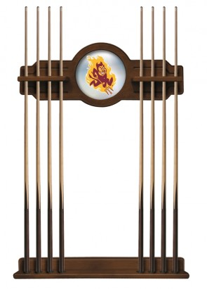 Arizona State Sparky Cue Rack Chardonnay FInish