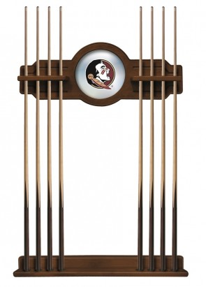 Florida State University Chardonnay Finish Cue Rack