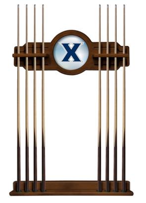 Xavier University Logo Pool Cue Rack