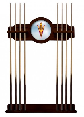 Arizona State English Tudor Cue Rack Finish