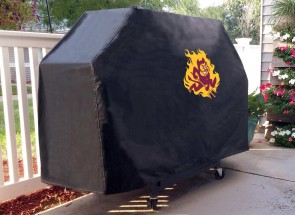 Arizona State Sparky Grill Cover Lifestyle