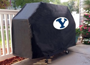 Brigham Young Grill Cover Lifestyle