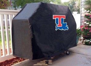 Louisiana Tech Grill Cover Lifestyle