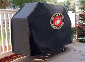 Us Marine Corps Logo Grill Cover