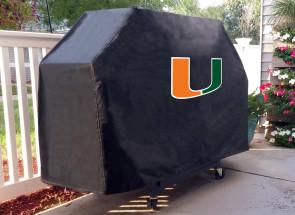 University of Miami Logo Grill Cover