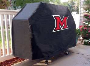 Miami University Logo Grill Cover