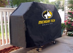 Michigan Tech Logo Grill Cover