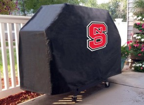 North Carolina State Logo Grill Cover