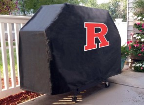 Rutgers University Logo Grill Cover